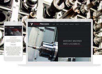 Cassandra Bryan Design Wichita Kansas Website Design Developement Trinity Precision Full Width