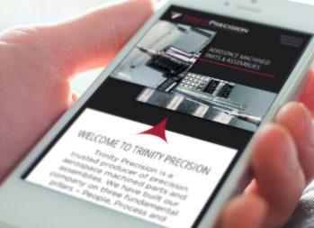 Cassandra Bryan Design Wichita Kansas Website Design Developement Portfolio Trinity Precision Image Right